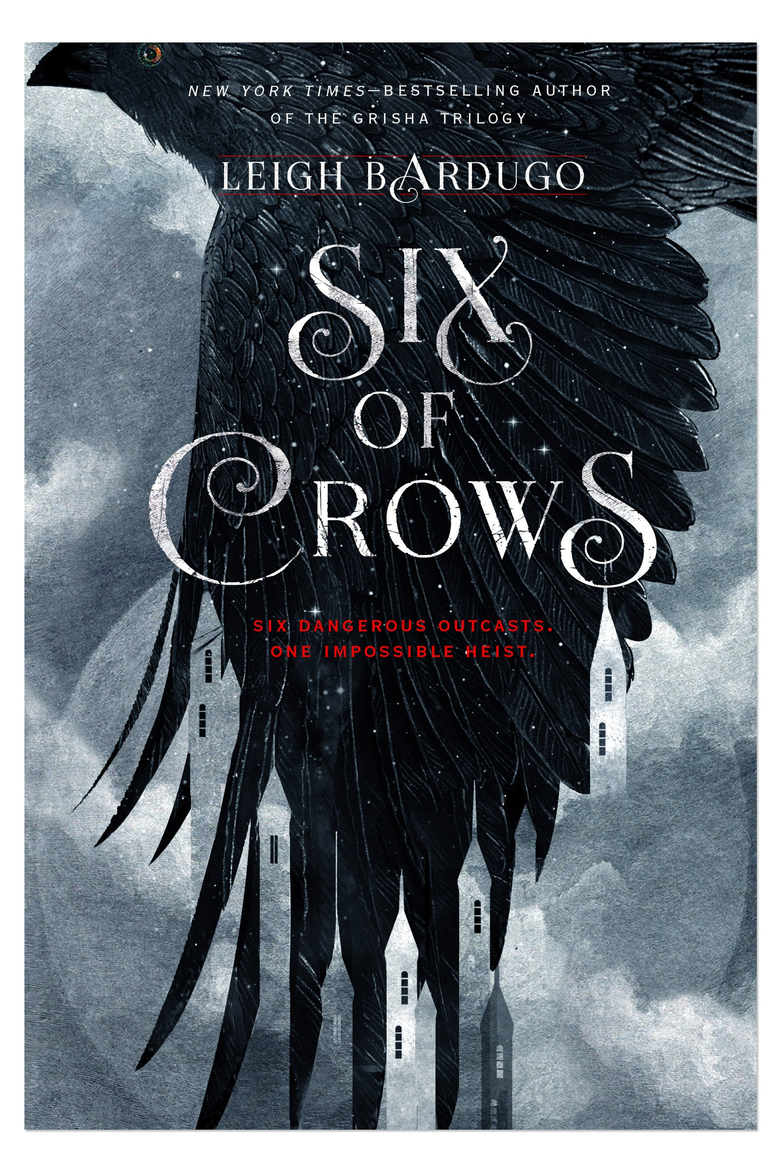 October's Teen Book Club pick is Six of Crows by Leah Bardugo.