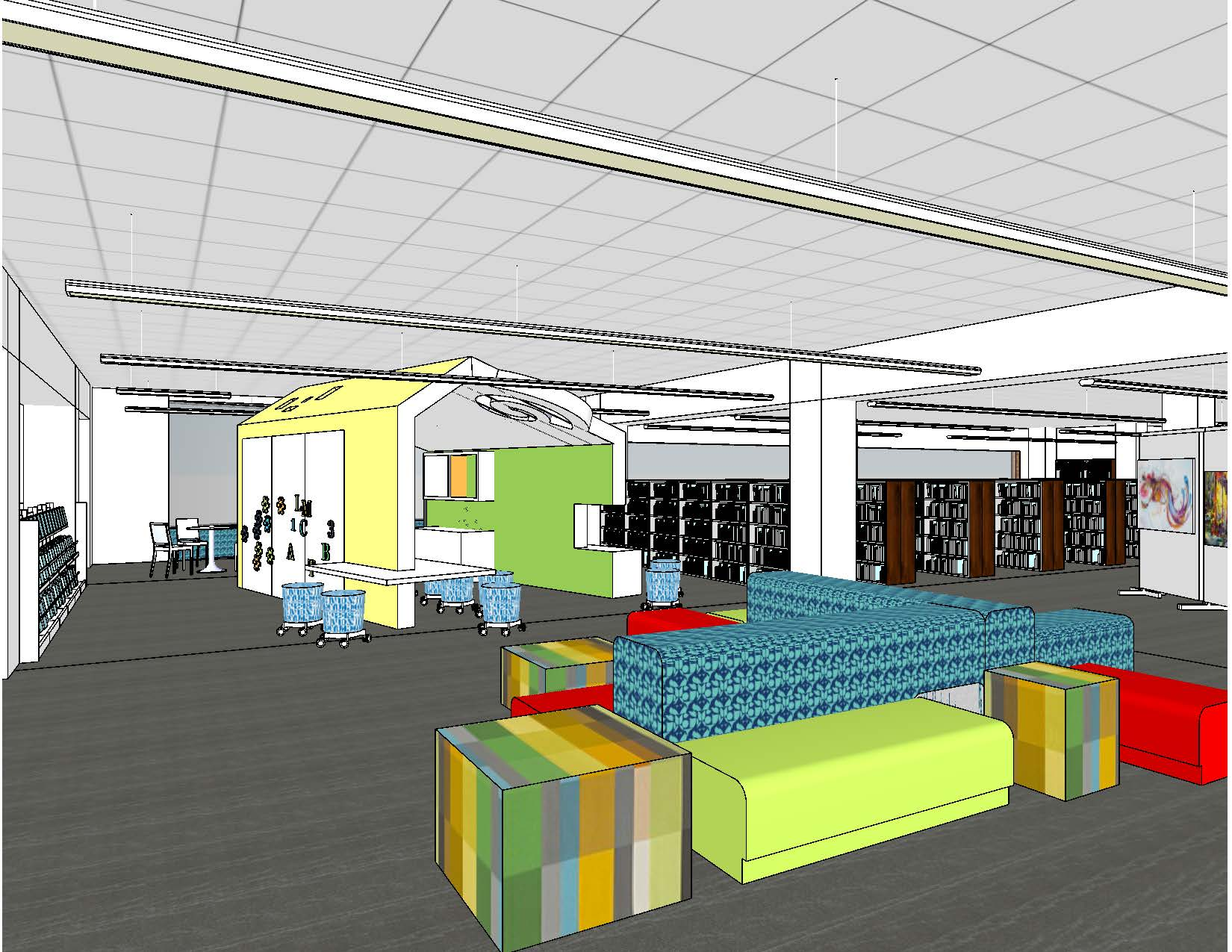 Rendering of Elementary Learning Space