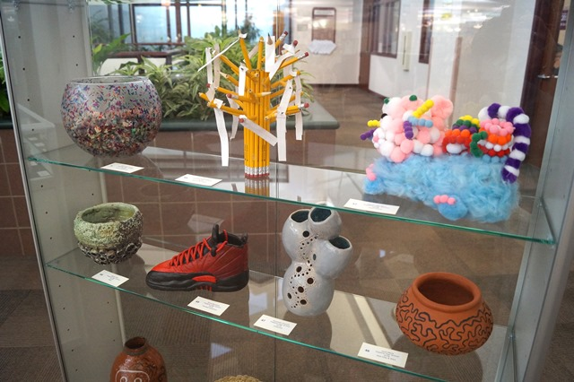Photo of Pottery made by Palatine High School Students