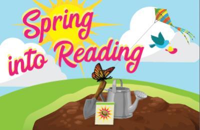 Spring Into Reading Logo