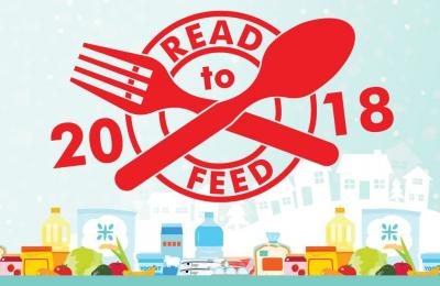 """Logo of """"Read to Feed - Winter Reading Challenge 2018"""""""