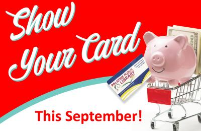 Show Your Card This September