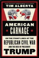 Cover image for American Carnage