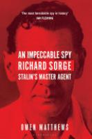 Cover image for An Impeccable Spy