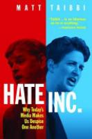 Cover image for Hate Inc