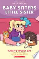 Cover image for Karen's Worst Day (Baby-sitters Little Sister Graphic Novel #3)
