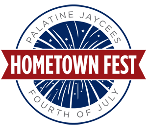 Logo of the Palatine Jaycees Hometown Festival
